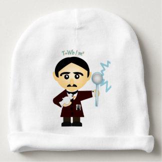 Nikola Tesla Gorrito Para Bebe