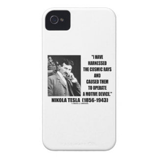 Nikola Tesla Harnessed The Cosmic Rays Device iPhone 4 Cover
