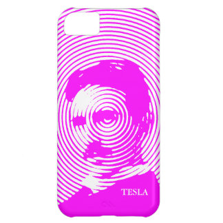 Nikola Tesla in Magenta iPhone 5C Cover