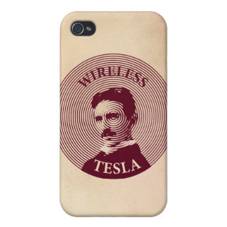Nikola Tesla iPhone 4 Cover
