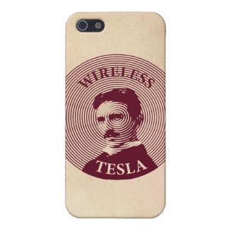 Nikola Tesla iPhone 5 Cárcasas