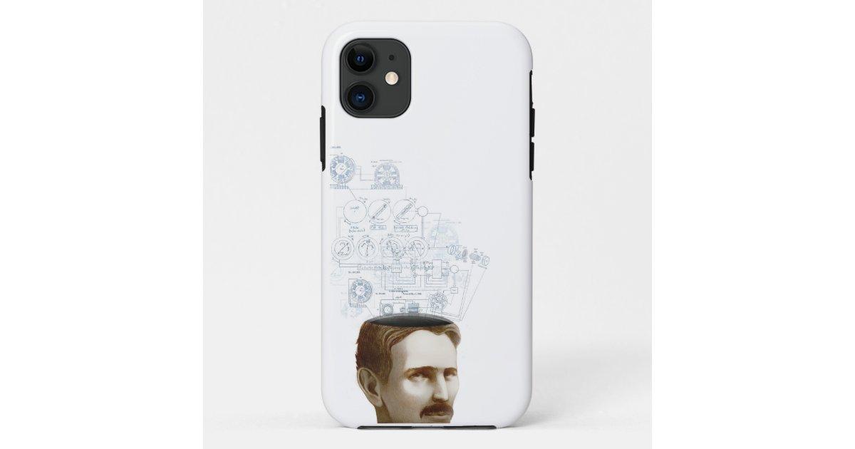 Nikola Tesla Iphone Case Zazzle Com