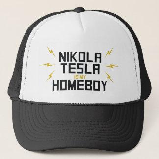 Nikola Tesla is My Homeboy Trucker Hat