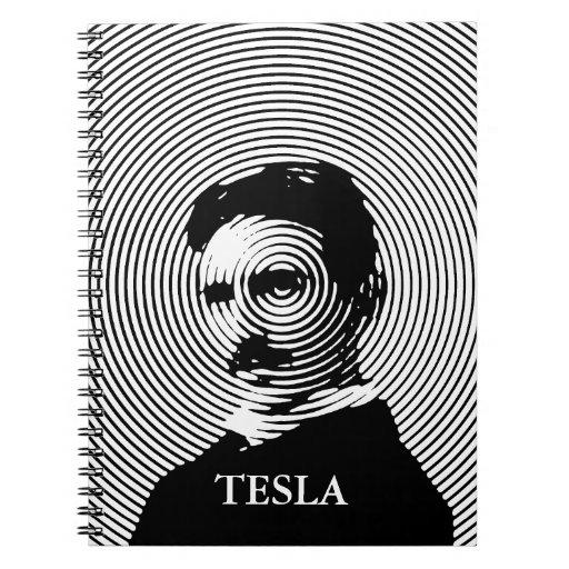Nikola Tesla Libro De Apuntes Con Espiral