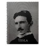 Nikola Tesla Libros De Apuntes Con Espiral