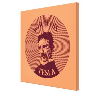 Nikola Tesla Impresión En Lienzo Estirada