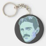 Nikola Tesla Llavero Personalizado
