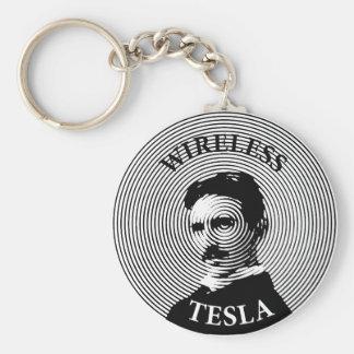 Nikola Tesla Llavero Redondo Tipo Pin
