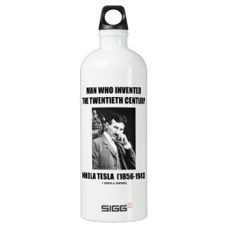 Nikola Tesla Man Who Invented The 20th Century SIGG Traveler 1.0L Water Bottle