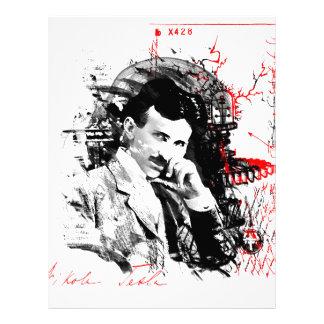 Nikola Tesla Plantillas De Membrete