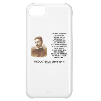 Nikola Tesla Money Invested Experiments Mankind To iPhone 5C Cover
