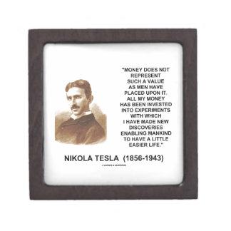 Nikola Tesla Money Value Discoveries Easier Life Jewelry Box