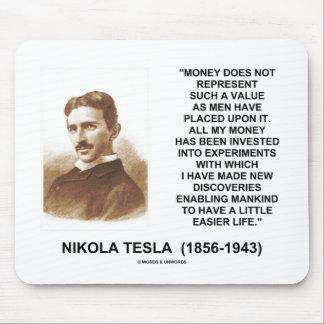 Nikola Tesla Money Value Discoveries Easier Life Mouse Pad