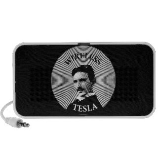 Nikola Tesla Mp3 Speakers