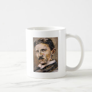 Nikola Tesla Classic White Coffee Mug