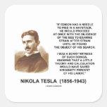 Nikola Tesla Needle In Haystack Theory Calculation Sticker