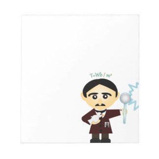 Nikola Tesla Notepad