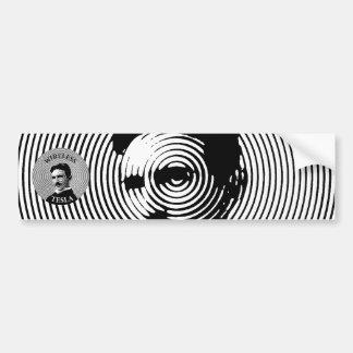Nikola Tesla Pegatina Para Auto