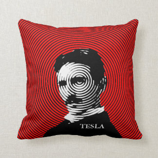 Nikola Tesla Pillow