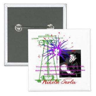 Nikola Tesla Pins