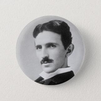 Nikola Tesla Pinback Button