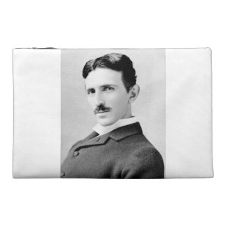 Nikola Tesla Portrait Travel Accessories Bags