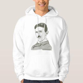 Nikola Tesla Portrait Hoodie
