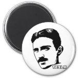 Nikola Tesla Portrait Magnet