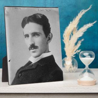 Nikola Tesla Portrait Plaque
