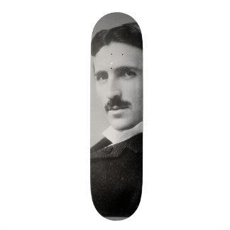 Nikola Tesla Portrait Custom Skate Board