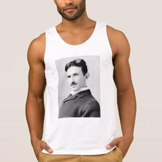 Nikola Tesla Portrait Tank Top