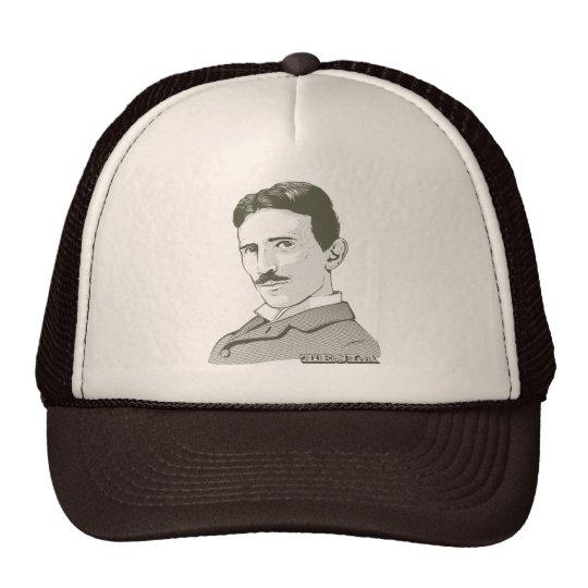 Nikola Tesla Portrait Trucker Hat