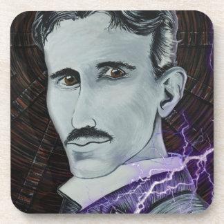 Nikola Tesla Posavasos De Bebida