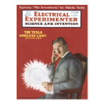 Nikola Tesla Postcard