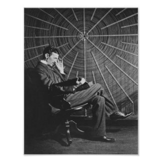 Nikola Tesla Print