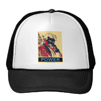 Nikola Tesla Power (Obama-Like Poster) Mesh Hats