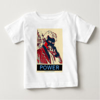 Nikola Tesla Power (Obama-Like Poster) Tee Shirts