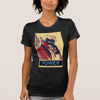 Nikola Tesla Power Obama-Like Poster Tee Shirt