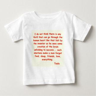 nikola tesla quote baby T-Shirt