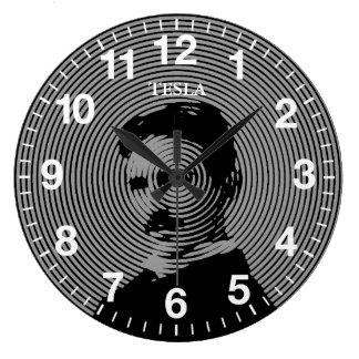Nikola Tesla Reloj De Pared