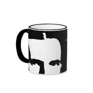 Nikola Tesla Ringer Mug
