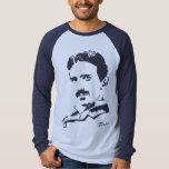 Nikola Tesla Rules! Navy T Shirt
