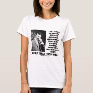 Nikola Tesla Scientists Equation No Relation Quote T-Shirt