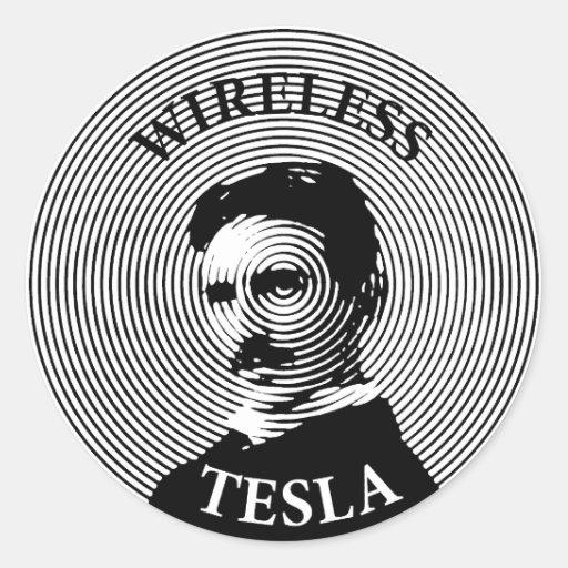 Nikola Tesla Stickers