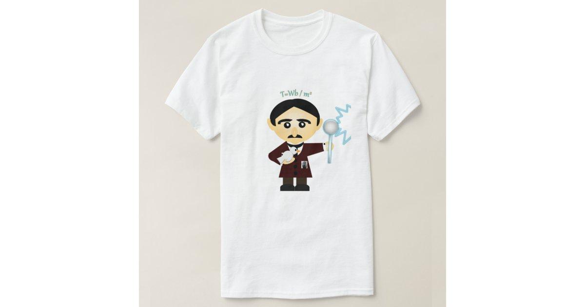 Nikola Tesla T-Shirt | Zazzle