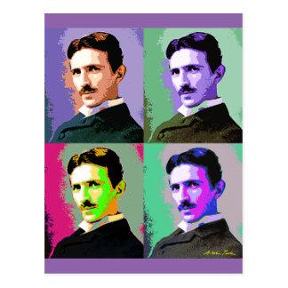 Nikola Tesla Tarjeta Postal