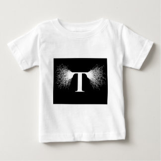 Nikola Tesla - Tesla Coil - Lightning Baby T-Shirt