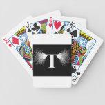 Nikola Tesla - Tesla Coil - Lightning Bicycle Playing Cards