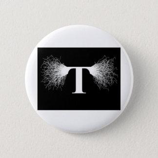 Nikola Tesla - Tesla Coil - Lightning Button