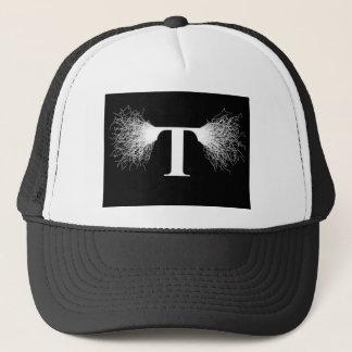 Nikola Tesla - Tesla Coil - Lightning Trucker Hat